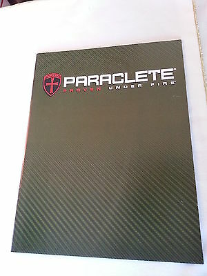 Paraclete Proven Under Fire Tactical Catalog Booklet / New