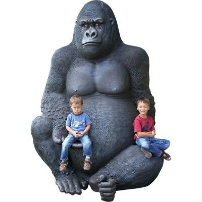 Gorilla Silver Back Oversize Jumbo King Kong Size Wild Animal Safari Jungle
