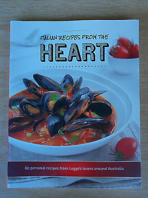 Italian Recipes from the Heart~Leggo's~60 Recipes~Cookbook~139pp P/B~2014