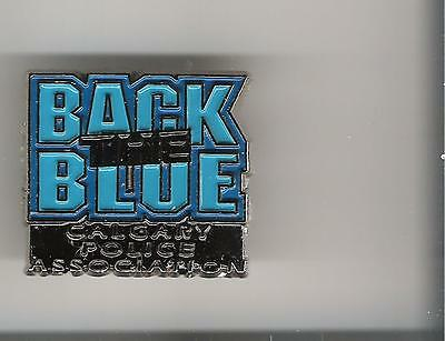 P24) Police Pin - Calgary Police Association - Back the Blue