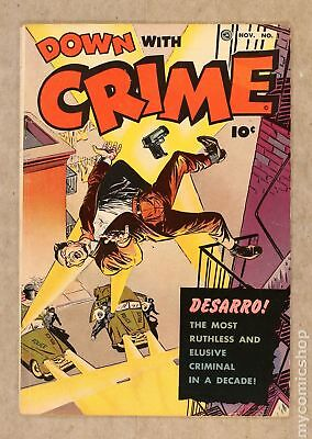 Down with Crime (1951) #1 VG+ 4.5