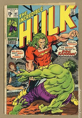 Incredible Hulk (1962-1999 1st Series) #141 GD 2.0