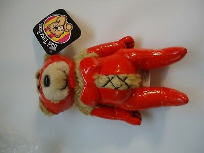 """Bad Taste Bears Scarlet novelty collectible plush 8"""" NEW old stock NOS"""