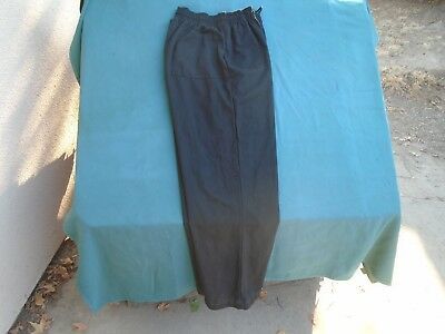 Chef Pants 3 Black Pants size Large $15.00 for All 3 Chef Pants