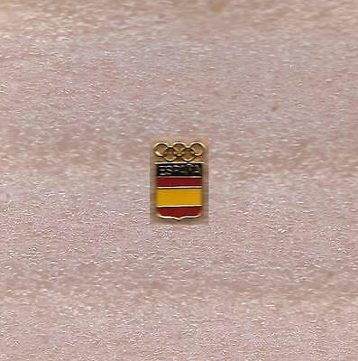 Noc Of Spain Olympic Official Pin #2