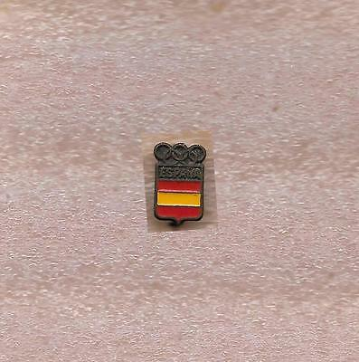 Noc Of Spain Olympic Official Pin Old