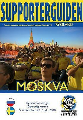 Programme Russia - Sweden 2015 (Sweden edition)