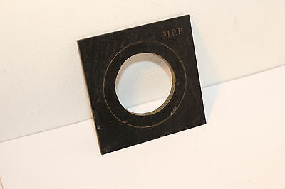 MPP LENS BOARD , 10x10cm with 54.5mm HOLE ( 100mm x 100mm )