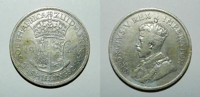 South Africa : Silver 2-1/2 Shillings 1925