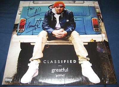 Classified Greatful Rap 2LP Vinyl Record © 2016 Brand New Signed w/COA