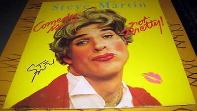 Steve Martin: Comedy Is Not Pretty LP blues music vinyl signed © 1979 w/COA