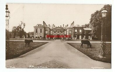 Northants Althorp House Daventry Real Photo Vintage Postcard 1.8