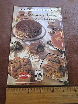 Holiday Cookbook let Nestle Chocolate  Diamond Walnuts Land O Lakes Cookies