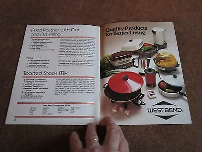 Better Homes & Gardens WOK Cookbook Compliments of West Bend Colectible 1980s