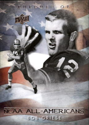 2011 Upper Deck College Legends Football Insert Singles (Pick Your Cards)