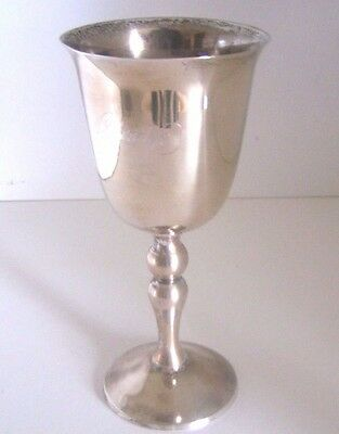 "Towle Silverplate Cup Monogrammed ""Claridge""  Claridge Hotel Atlantic City 1981"