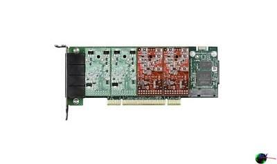 Digium 1A4A04F 4 Port Modular Analog PCI 3.35.0V  with 2 Station and 2 Trunk