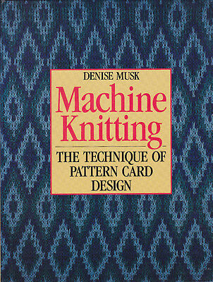 Machine Knitting The Technique Of Pattern Card Design By Musk - Hb In Jacket