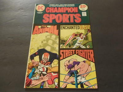 Champion Sports #2 Jan 1974 Bronze Age DC Comics Uncirculated           ID:11047