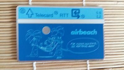 Private Card Airbeach Belgium (Mint,Neuve) Rare