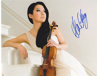 Sarah Chang Signed Autographed 8X10 Photo Violinist Violin Exact Proof #5