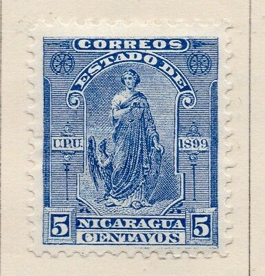 Nicaragua 1899 Early Issue Fine Mint Hinged 5c. 173167