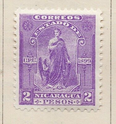 Nicaragua 1899 Early Issue Fine Mint Hinged 2P. 173173
