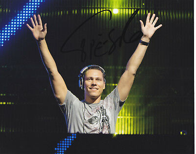 Tiesto Signed Autograph Edm Dance Trance   8X10 Photo  Exact Proof #6