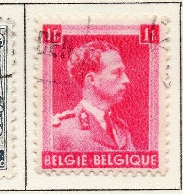 Belgium 1940-41 Early Issue Fine Used 1F. 173936
