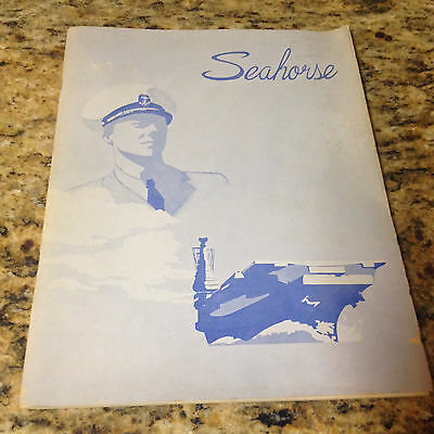 Seahorse USC Trojans NROTC Yearbook University Southern CA -1955