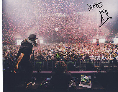 Dvbbs Alex Chris Van Den Hoef Signed Autographed Edm Electro 8X10 Photo Proof #7