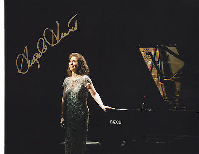 Angela Hewitt Signed Autographed Classical Bach Pianist 8X10 Photo  Exact Proof