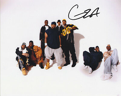 Gza Genius Signed Autogrpahed Wu Tang Clan 8X10 Photo   Proof #3