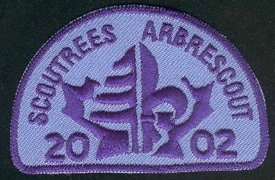 2002 Scoutrees Arbrescouts Canada Patch Brand New