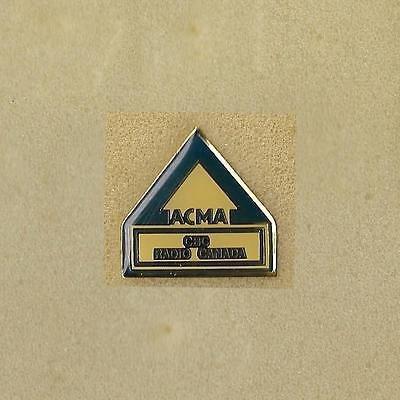 Cbc Radio Canada Tv Acma Official Pin