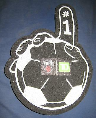 Ottawa Fury Official Limited Edition Souvenir Soft #1 Finger Brand New