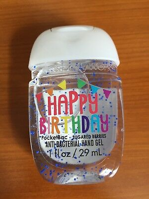 Bath And Body Works Happy Birthday Pocket Hand Sanitiser