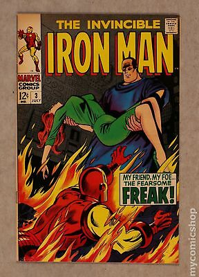 Iron Man (1968 1st Series) #3 VG 4.0