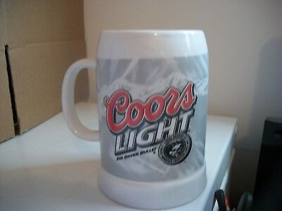 Coors Light -The Silver Bullet-Stoneware Stein