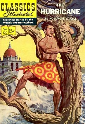 Classics Illustrated 120 The Hurricane (1954) #1 GD/VG 3.0