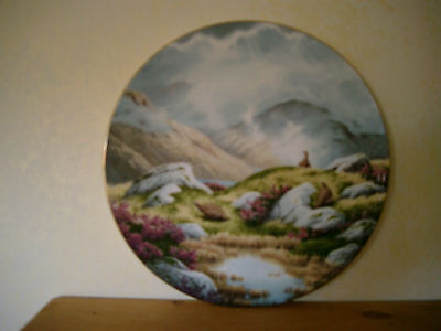 Royal Doulton L E Collector Plate titled Moorland Mist