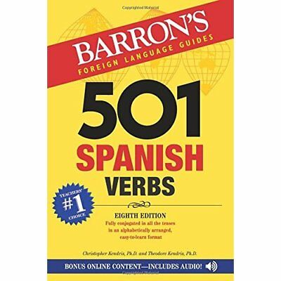 501 Spanish Verbs (501 Verb) (Barron's foreign language - Paperback NEW Kendris,