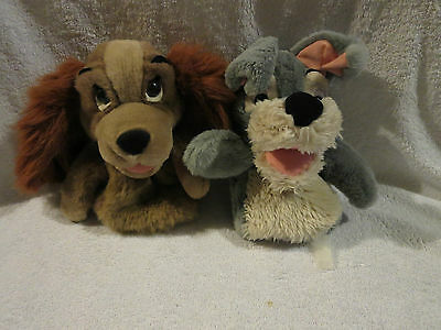 Disney Lady And The Tramp Hand Puppets