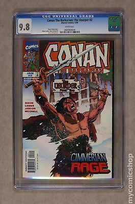 Conan the Usurper (1997) #2 CGC 9.8 0905909008