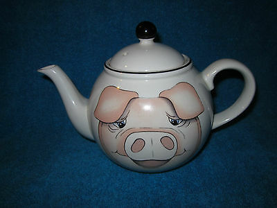 Arthur Wood Back To Front Pig Teapot