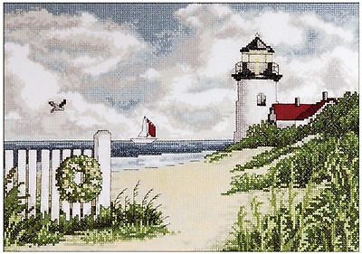 Castle in the Clearing #DW3263 Cross Stitch Kit ~ Design Works Woodland Castle