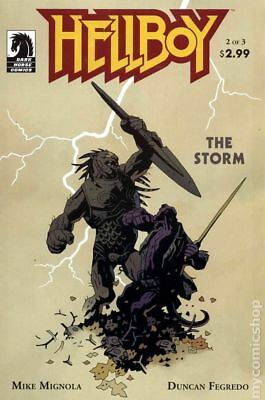 Hellboy The Storm (2010 Dark Horse) #2 VG LOW GRADE