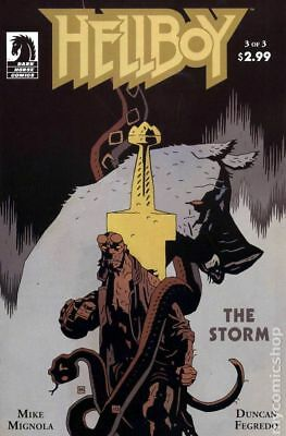 Hellboy The Storm (2010 Dark Horse) #3 VG LOW GRADE