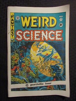 1973 EC PORTFOLIO #4 Russ Cochran Oversized VG+ 4.5 Graham Ingels WEIRD SCIENCE