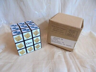 Vintage Ralston Purina Chex Cereal Rubik's Cube Puzzle Premium in Mailing Box